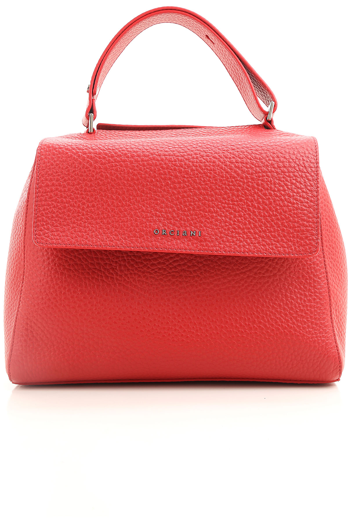 Image of Orciani Handbags, Strawberry Red, Leather, 2017