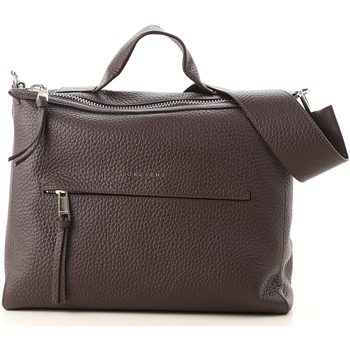 Orciani Top Handle Handbag On Sale, Dark Bordeaux, Leather, 2019