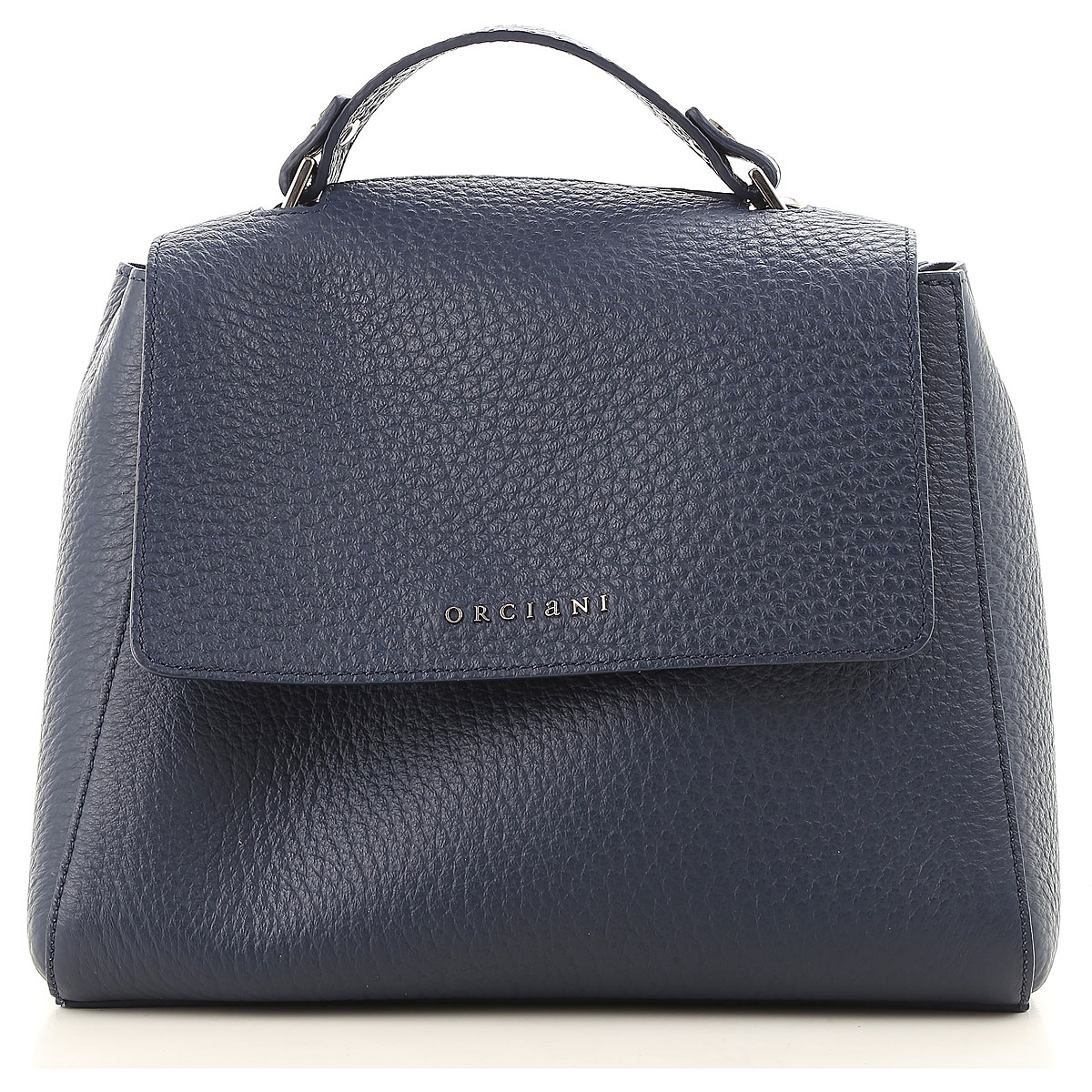 Image of Orciani Shoulder Bag for Women, Blue, Leather, 2017