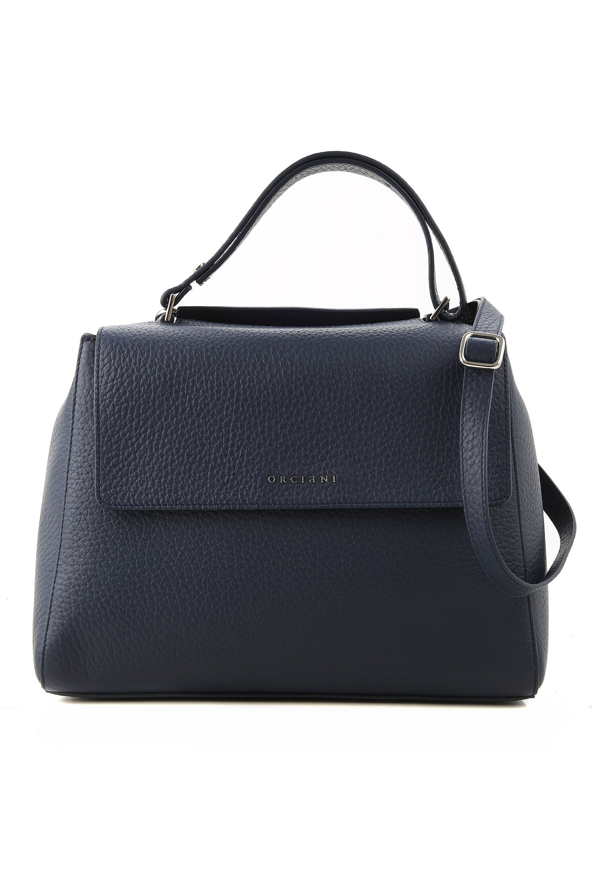 Orciani Shoulder Bag for Women On Sale, navy, Leather, 2019