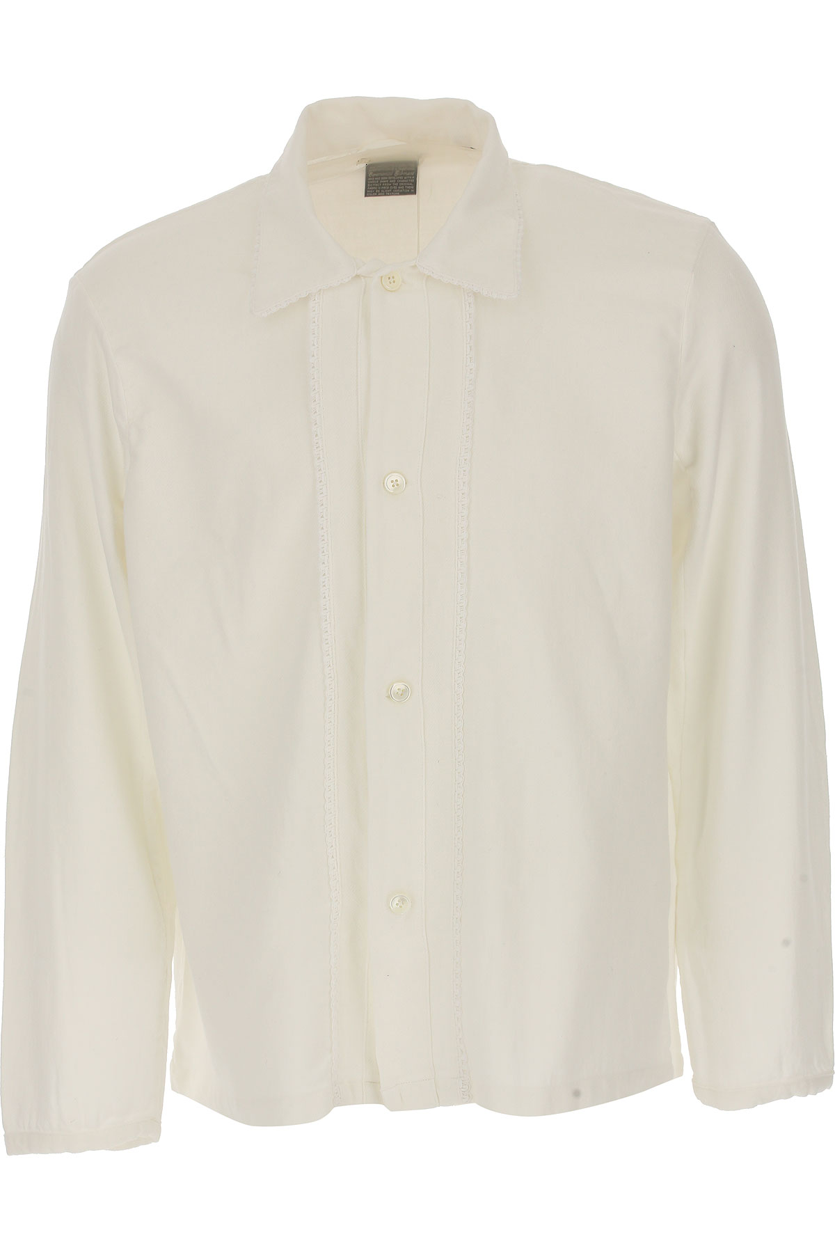 Image of Our Legacy Shirt for Men, White, Cotton, 2017, 32 34