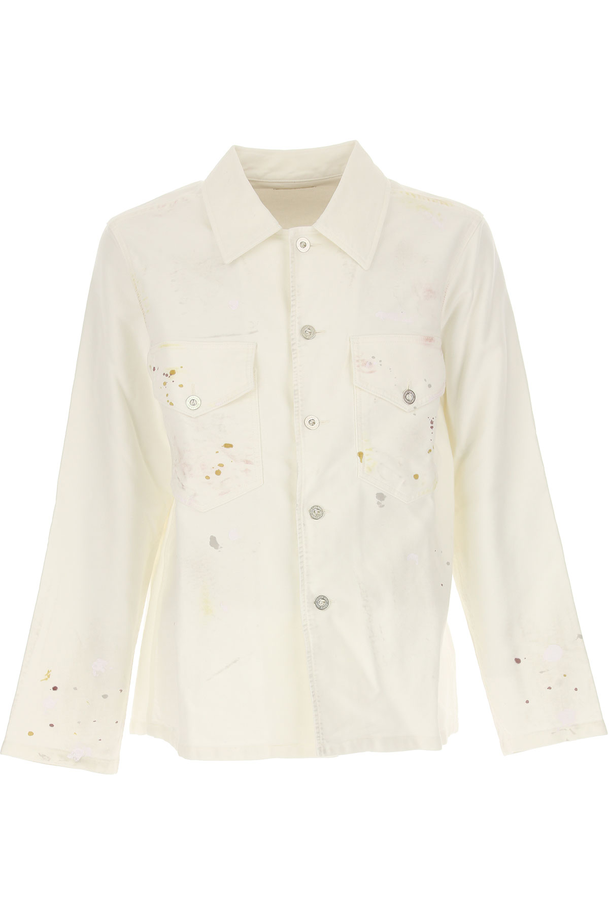 Image of Our Legacy Jacket for Men, White, Cotton, 2017, L M XL