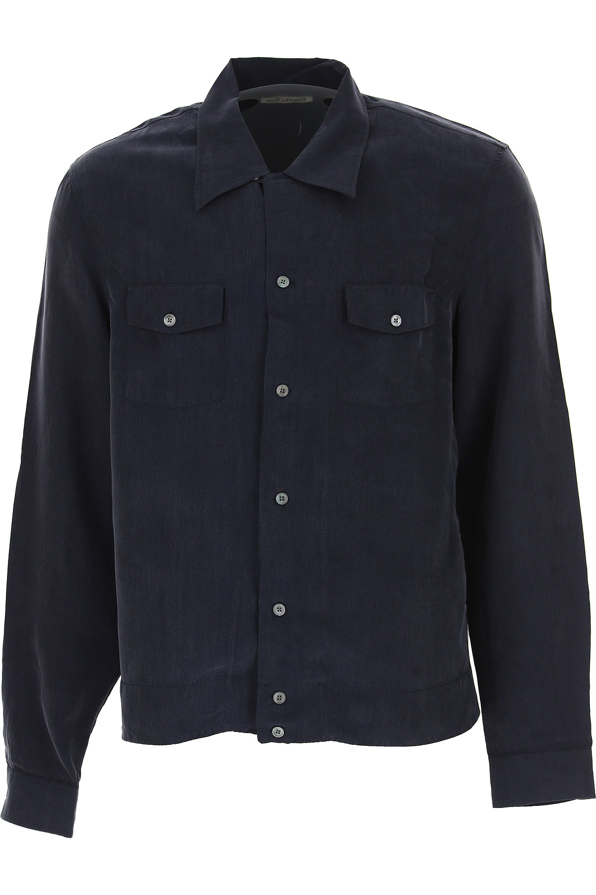 Image of Our Legacy Shirt for Men, Night Blue, cupro, 2017, 30 34