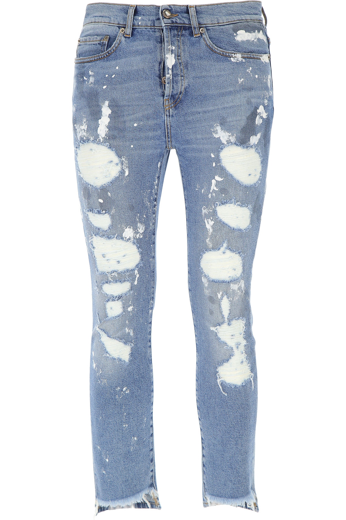 Image of Overcome Jeans, Denim Blue, Cotton, 2017, 30 31 32 33 34 36