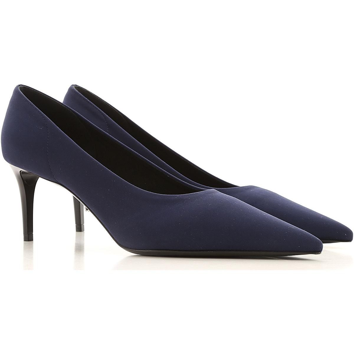 prada pumps & high heels for women on sale, dark blue, neoprene, 2019, 3 3.5 4 4.5 5 5.5 6 6.5
