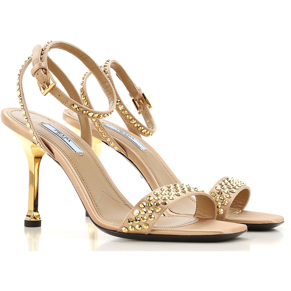 prada sandals for women on sale, skin, leather, 2019, 3 3.5 4.5 5.5 6 6.5 7.5