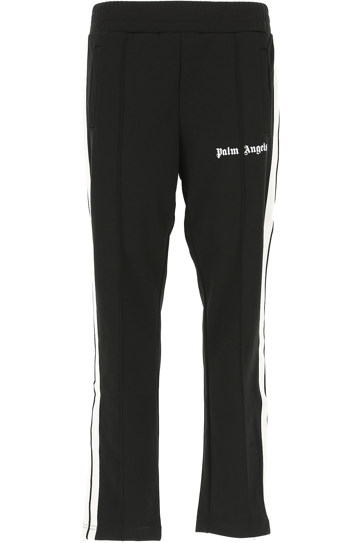 Image of Palm Angels Mens Clothing, Black, polyestere, 2017, L XL