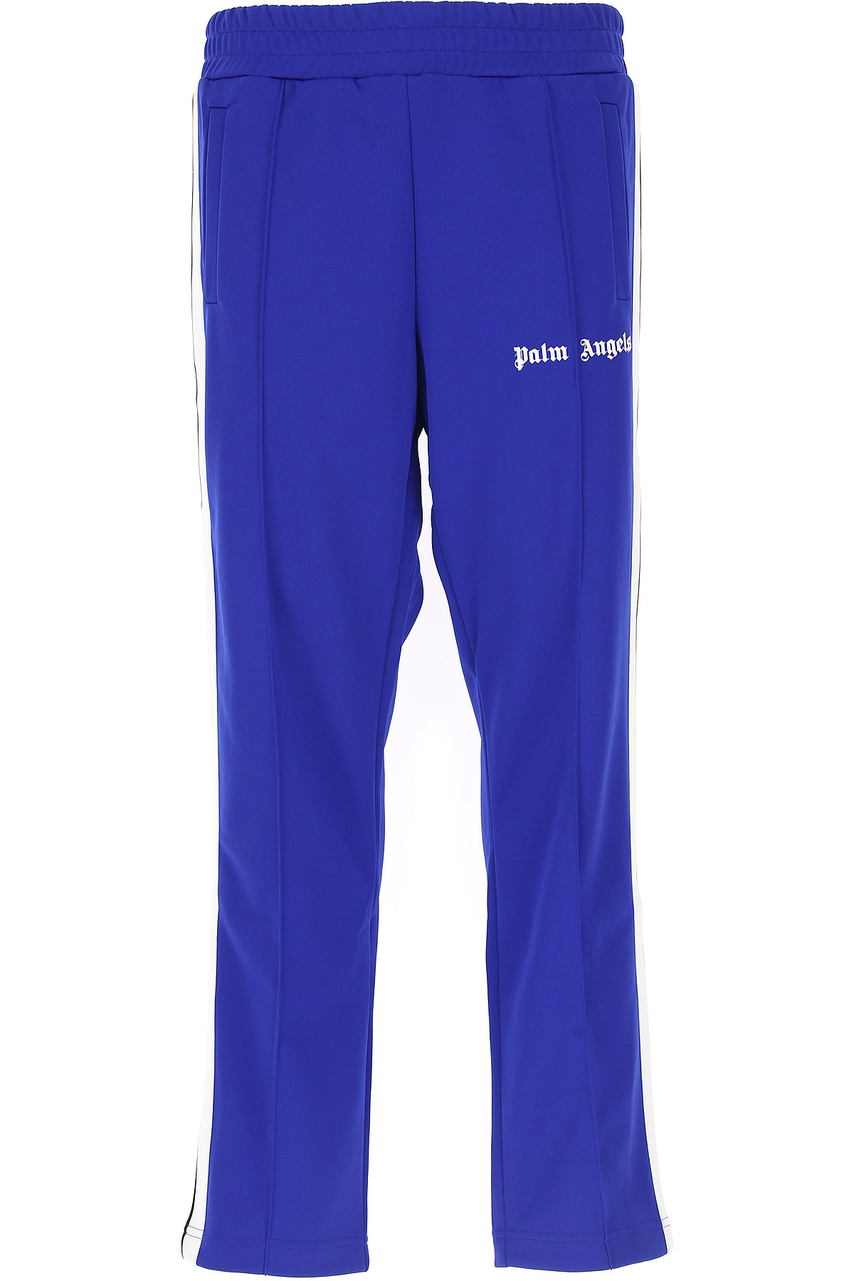 Image of Palm Angels Pants for Men, Electric Blue, polyester, 2017, L M S