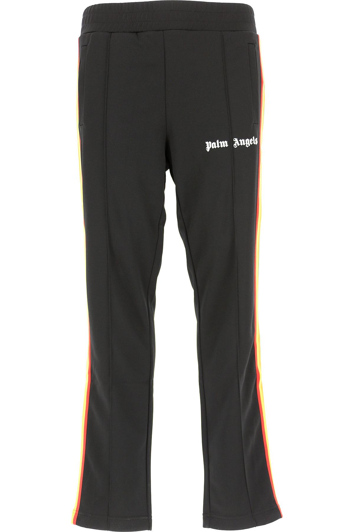 Image of Palm Angels Pants for Men, Black, polyestere, 2017, L XL