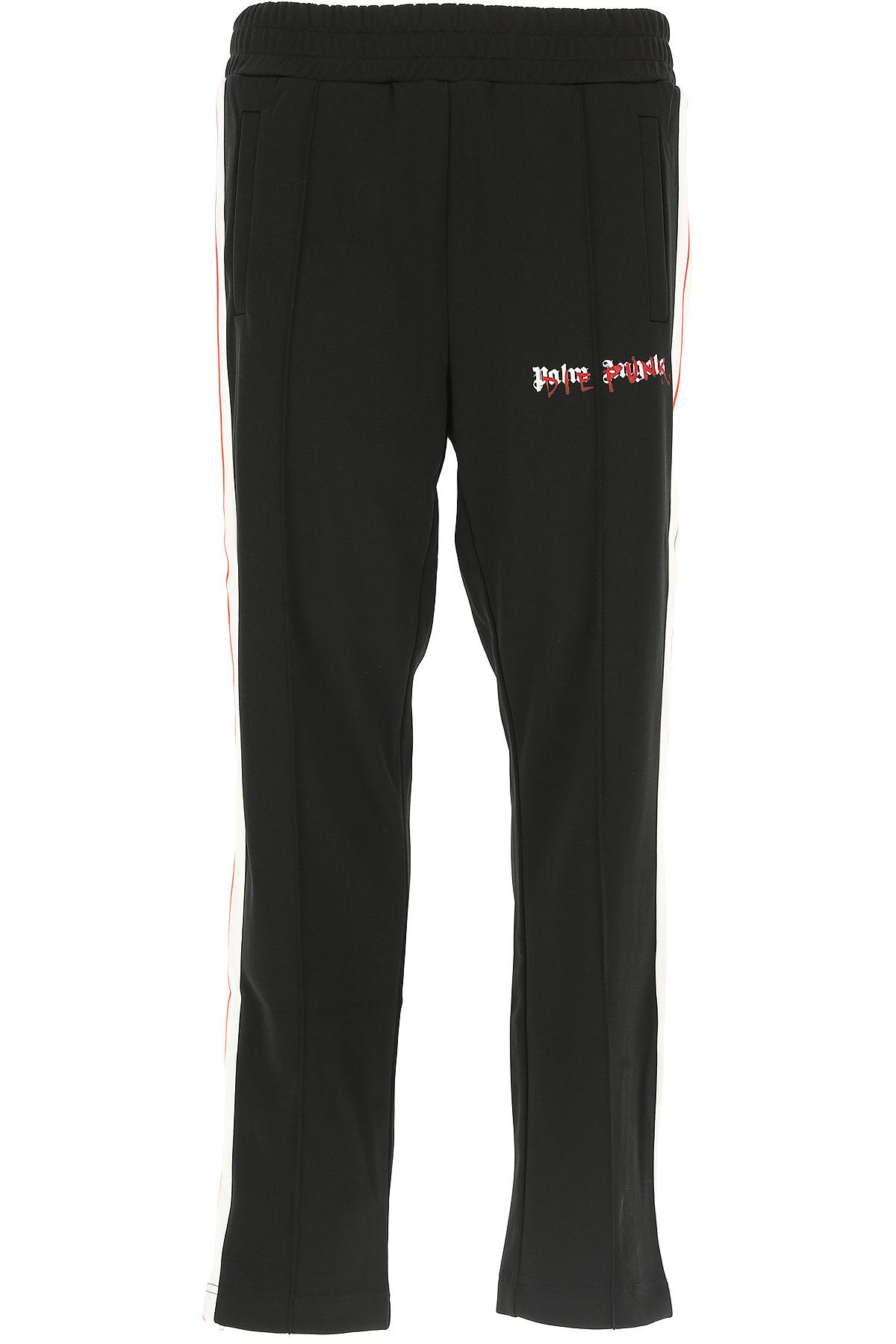 Image of Palm Angels Pants for Men, Black, polyester, 2017, L M XL