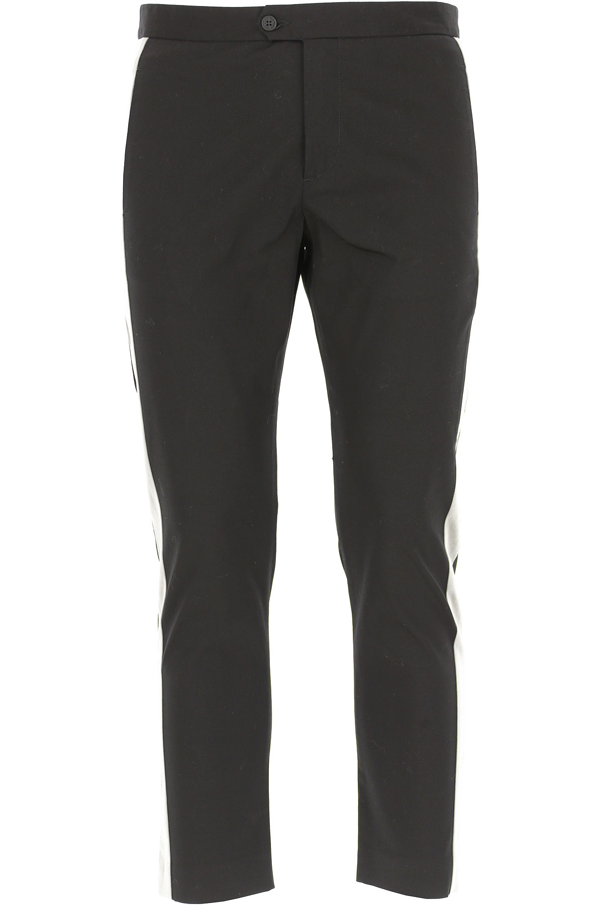 Image of Palm Angels Pants for Men On Sale in Outlet, Black, Cotton, 2017, 28 30