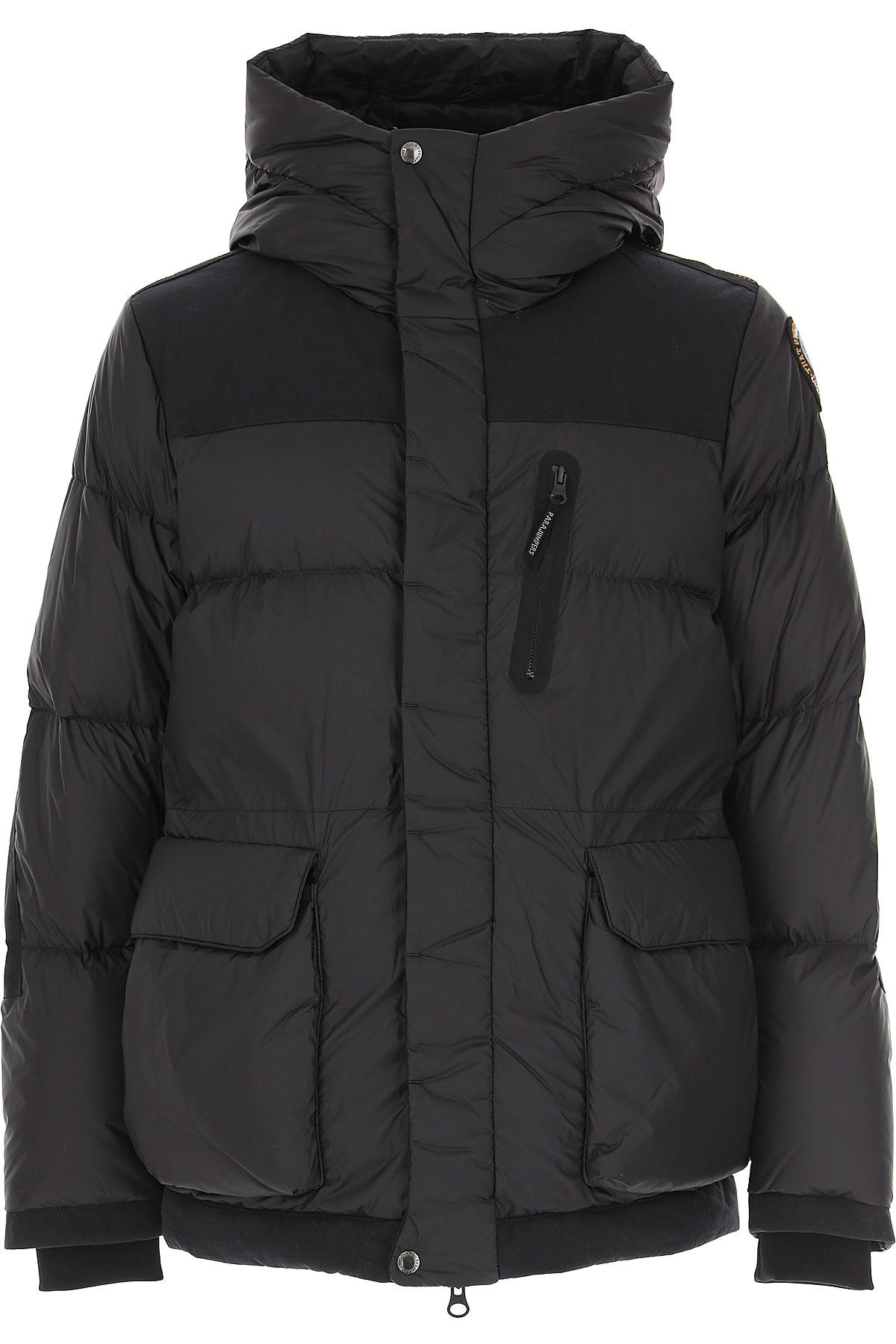Parajumpers Down Jacket for Men, Puffer Ski Jacket On Sale, Black, polyamide, 2019, L M XL