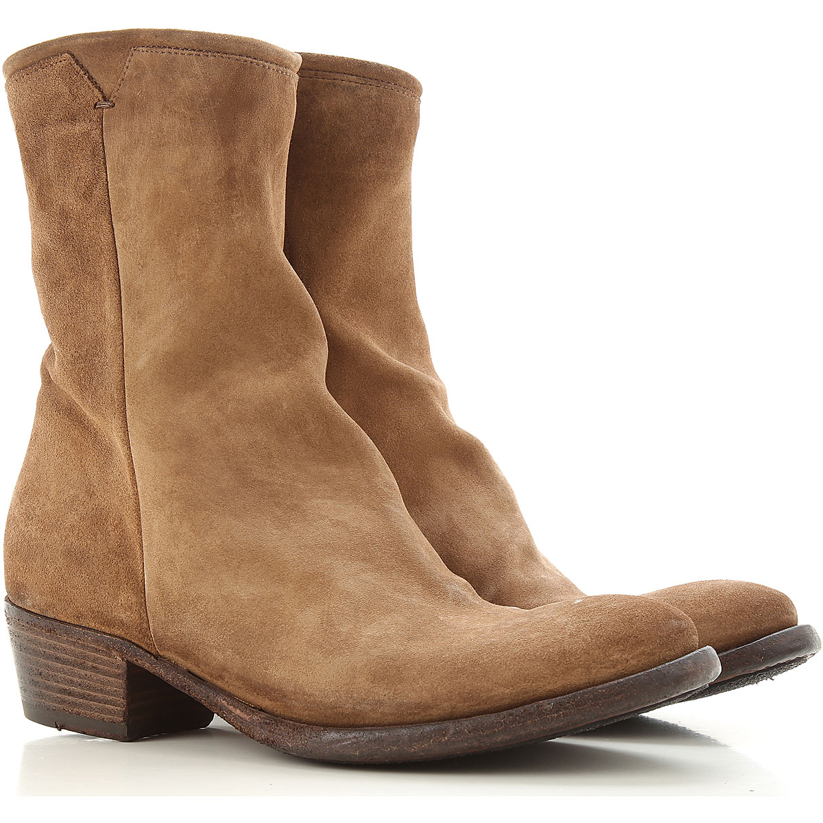 Pantanetti Boots for Women, Booties On Sale, Brown, suede, 2019, 6 7 8 9