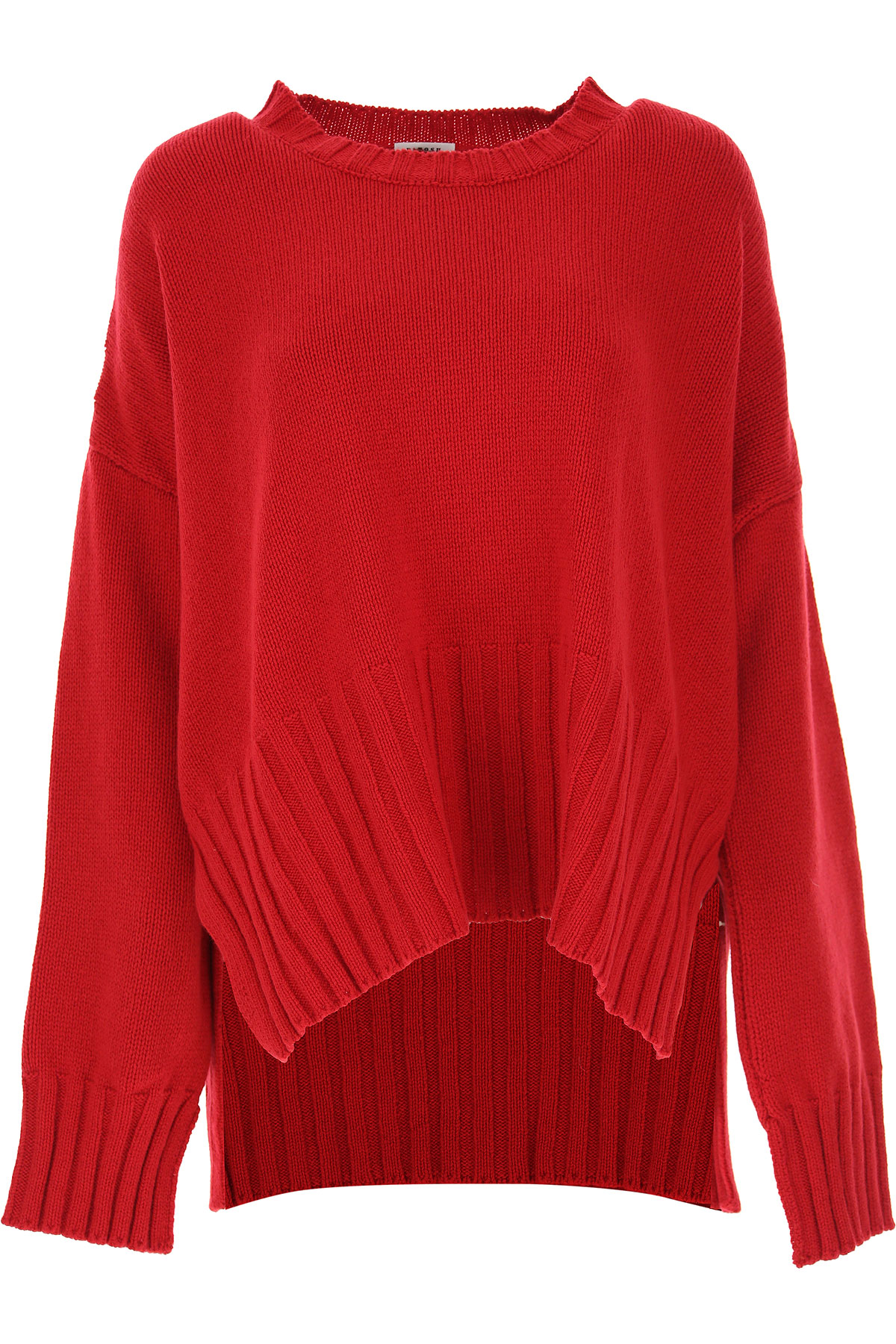 P.A.R.O.S.H. Sweater for Women Jumper On Sale, Red, Wool, 2019, 4 6