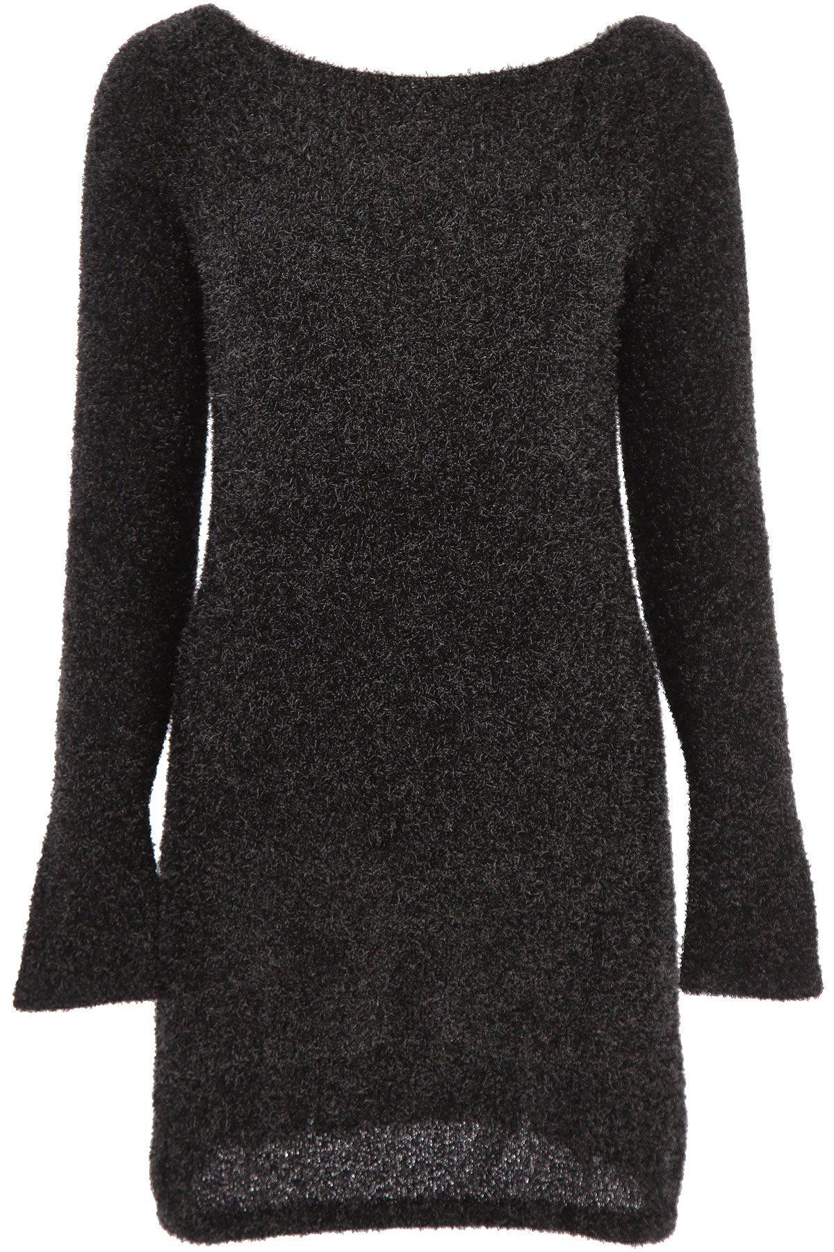 P.A.R.O.S.H. Sweater for Women Jumper On Sale, Black, polyester, 2019, 2 4
