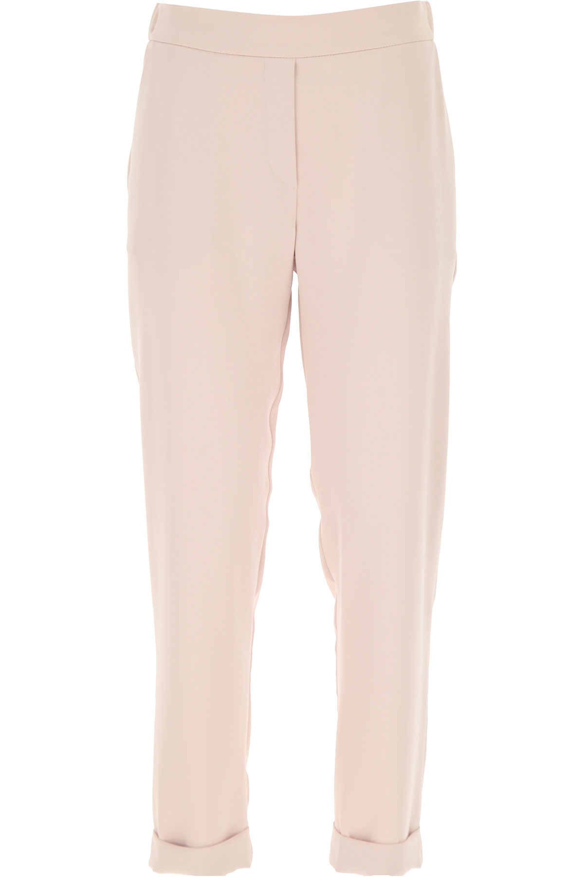 P.A.R.O.S.H. Pants for Women On Sale, Pink, polyester, 2019, 26 28 4 6 8