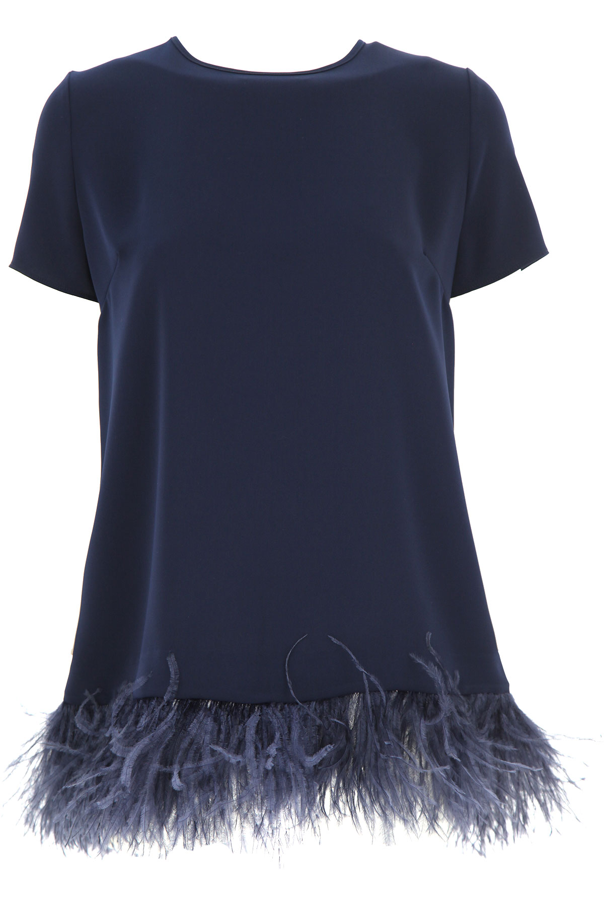 P.A.R.O.S.H. Top for Women On Sale, Midnight Blue, polyester, 2019, 4 6