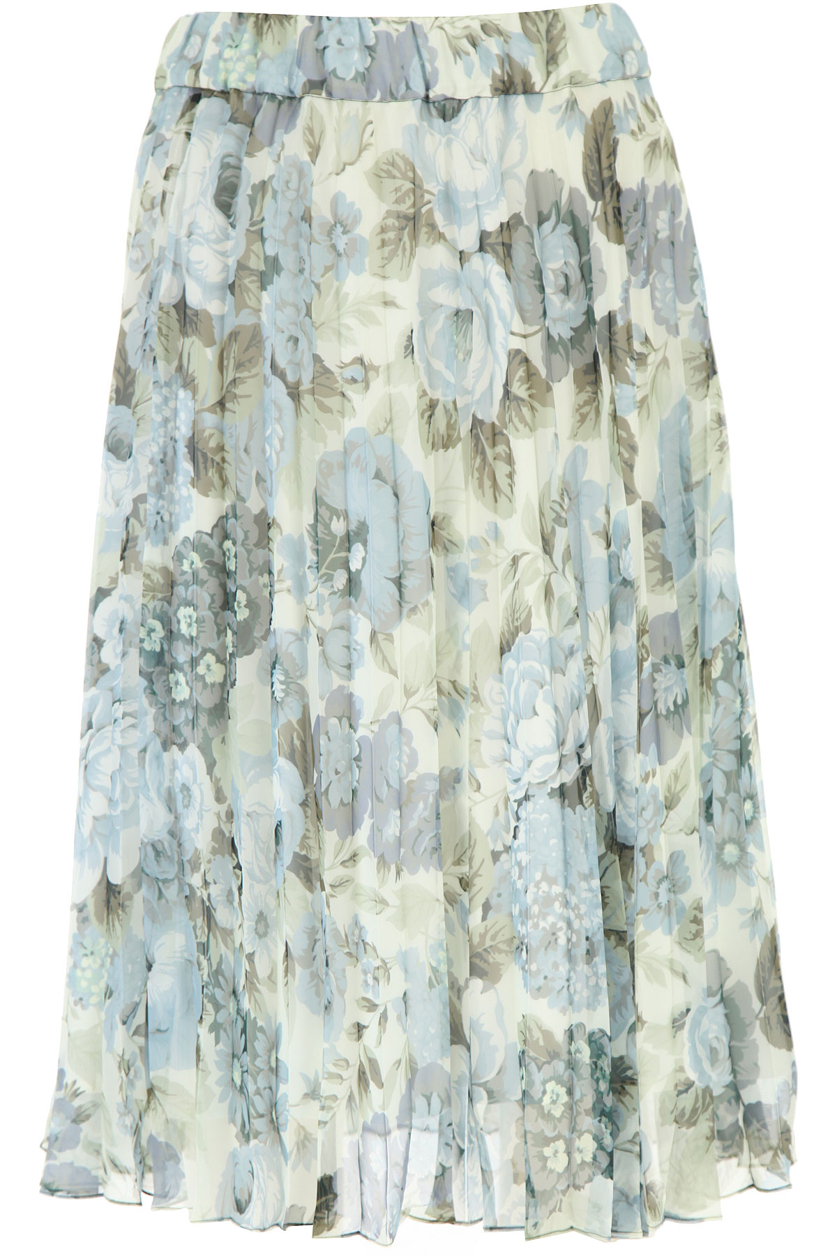P.A.R.O.S.H. Skirt for Women On Sale, Blue, polyester, 2019, 6