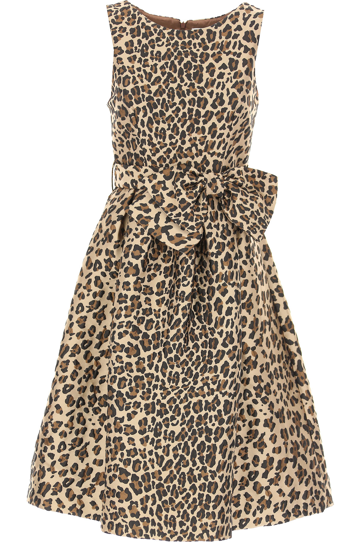 Image of P.A.R.O.S.H. Dress for Women, Evening Cocktail Party, Leopard, polyester, 2017, 2 4 6