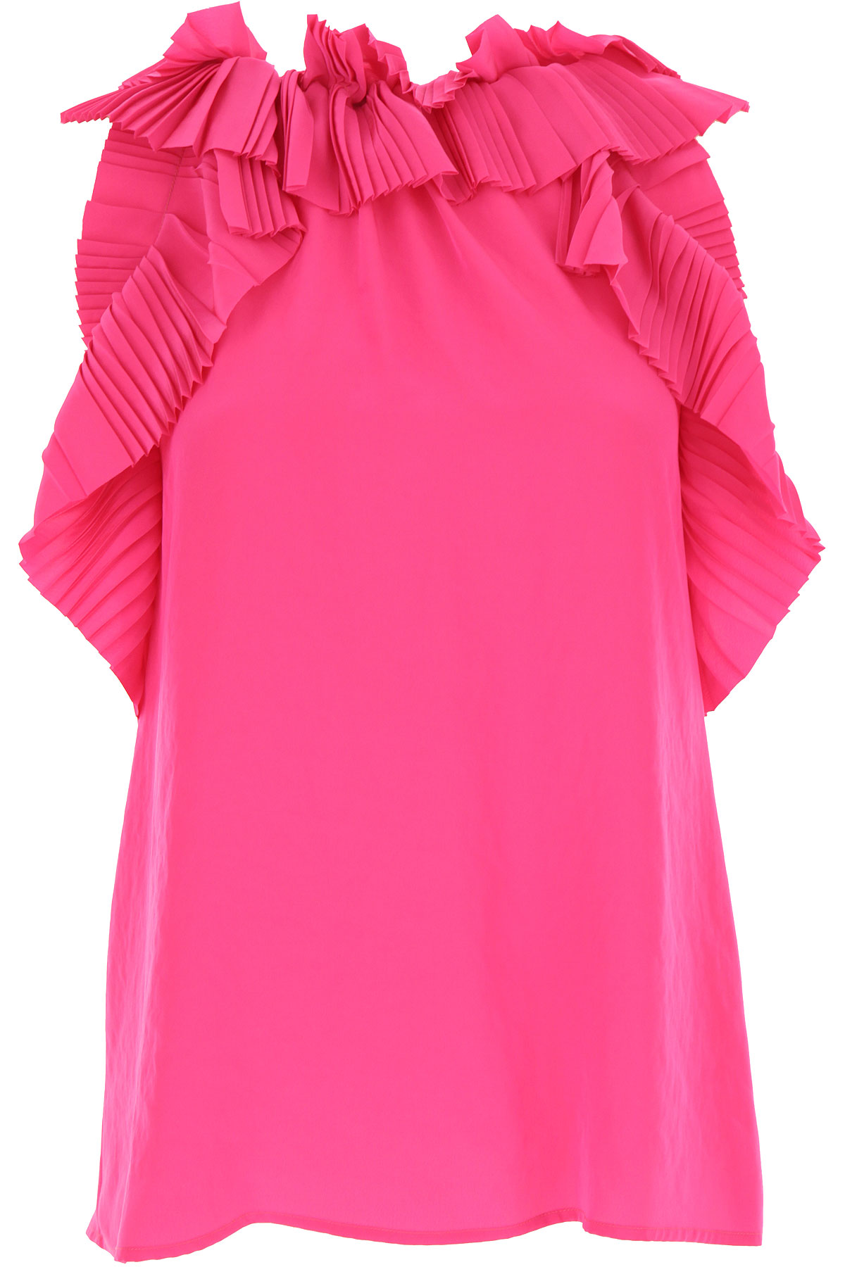 P.A.R.O.S.H. Top for Women On Sale, Fuchsia, polyester, 2019, 2 4 6