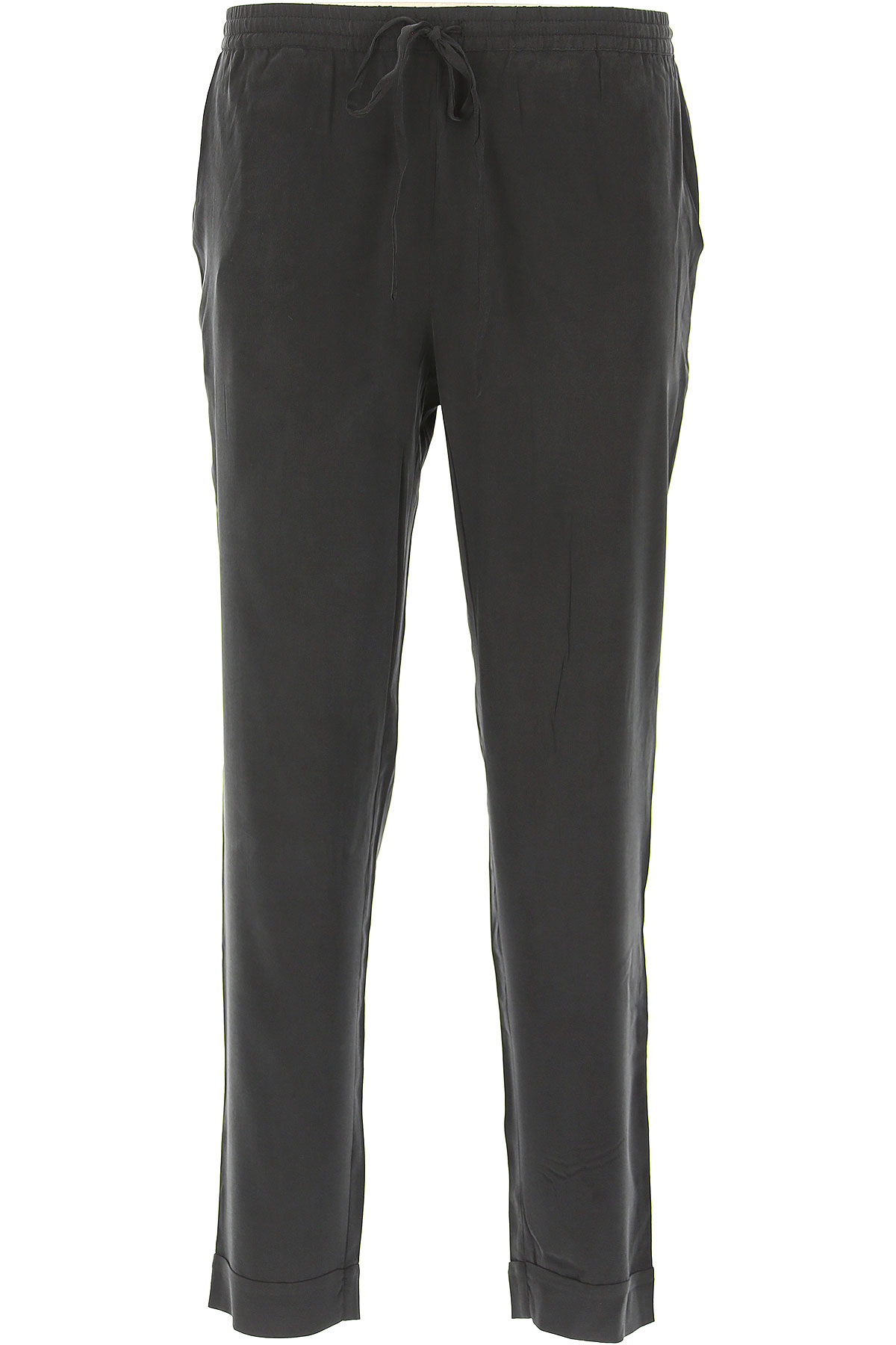 P.A.R.O.S.H. Pants for Women On Sale in Outlet, Black, Silk, 2019, 2 4