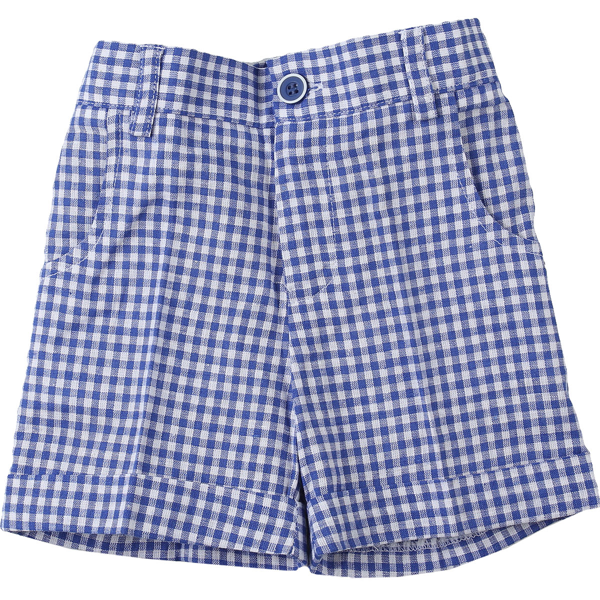 Paz Rodriguez Baby Shorts for Boys On Sale, Blue, Cotton, 2019, 12 M 2Y