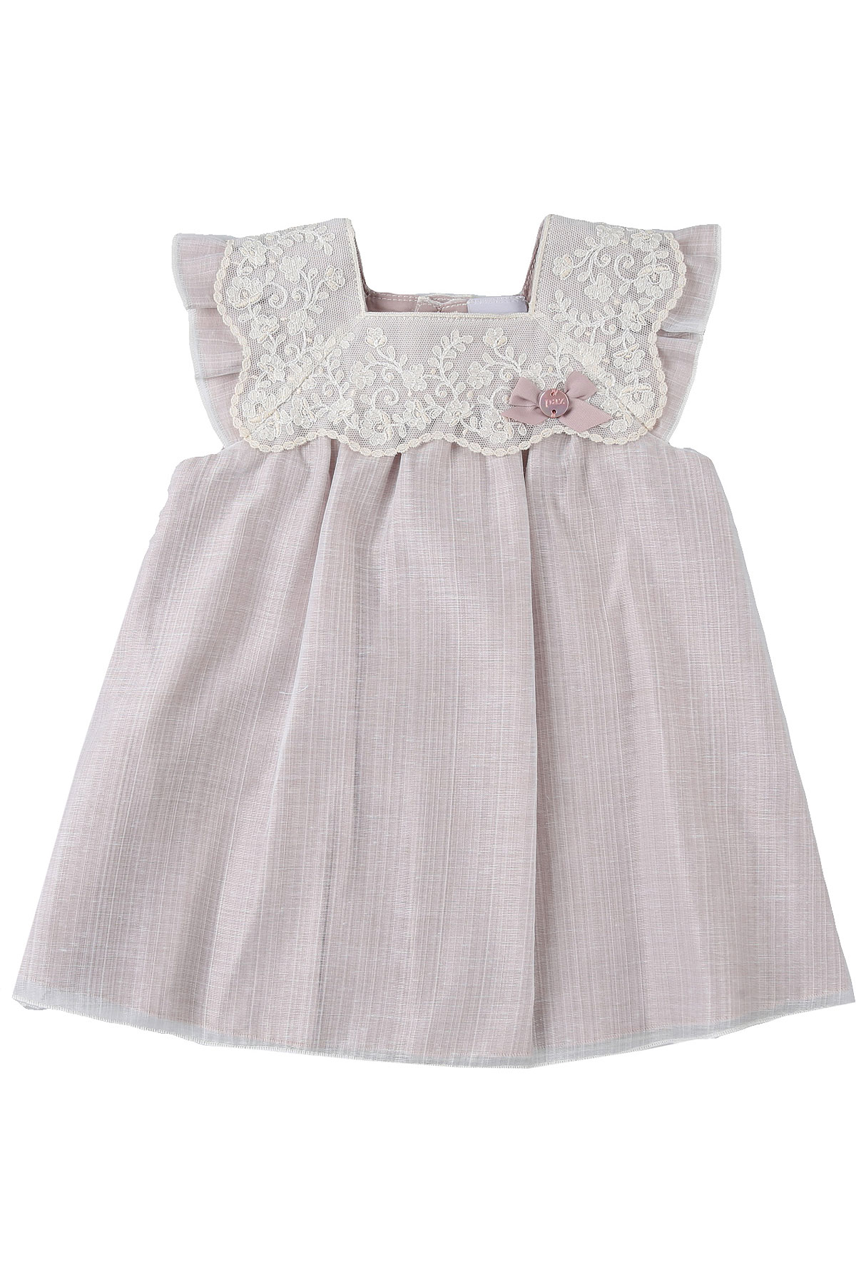 Paz Rodriguez Baby Dress for Girls On Sale, Antic Rose, polyester, 2019, 6M 9M