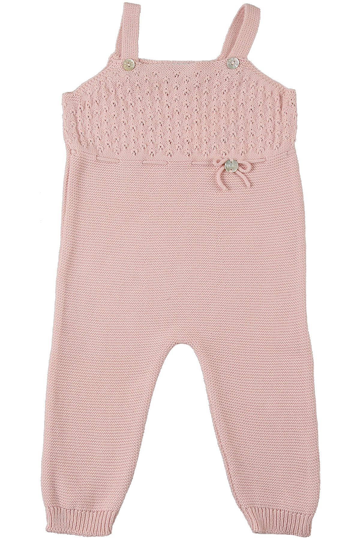 Paz Rodriguez Baby Bodysuits & Onesies for Girls On Sale, Baby Pink, Cotton, 2019, 3M 6M