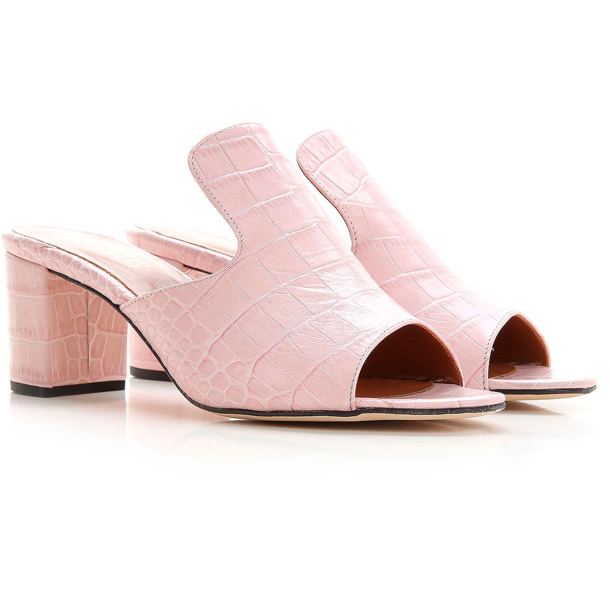 Paris Texas Sandale Femme, Rose, Cuir, 2019, 37 39