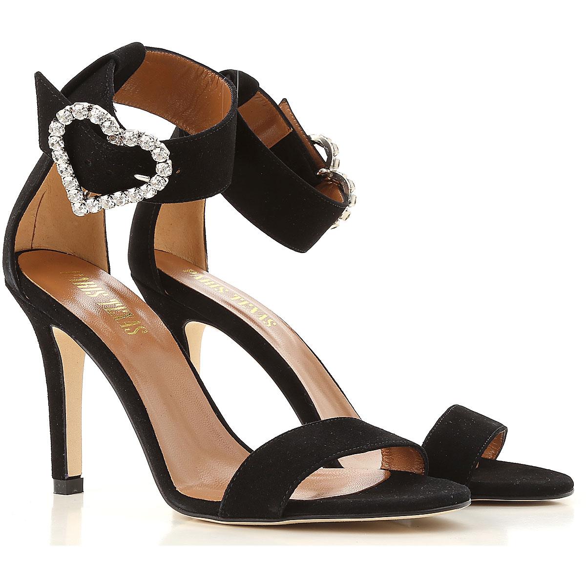 Image of Paris Texas Sandals for Women, Black, 2017, 10 11 6 7 8.5