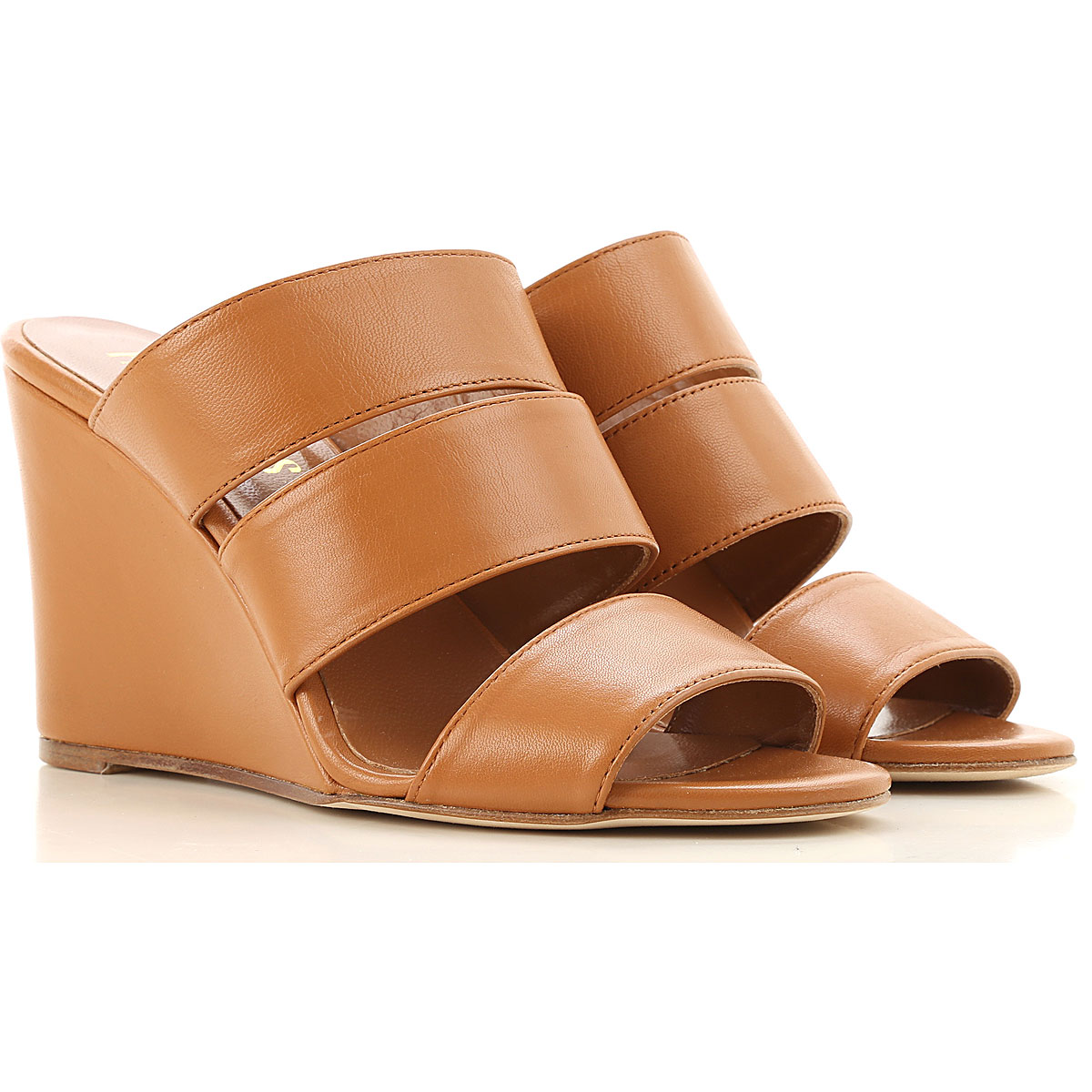 Paris Texas Sandals for Women On Sale in Outlet, Brown, Leather, 2019, 10 5 6