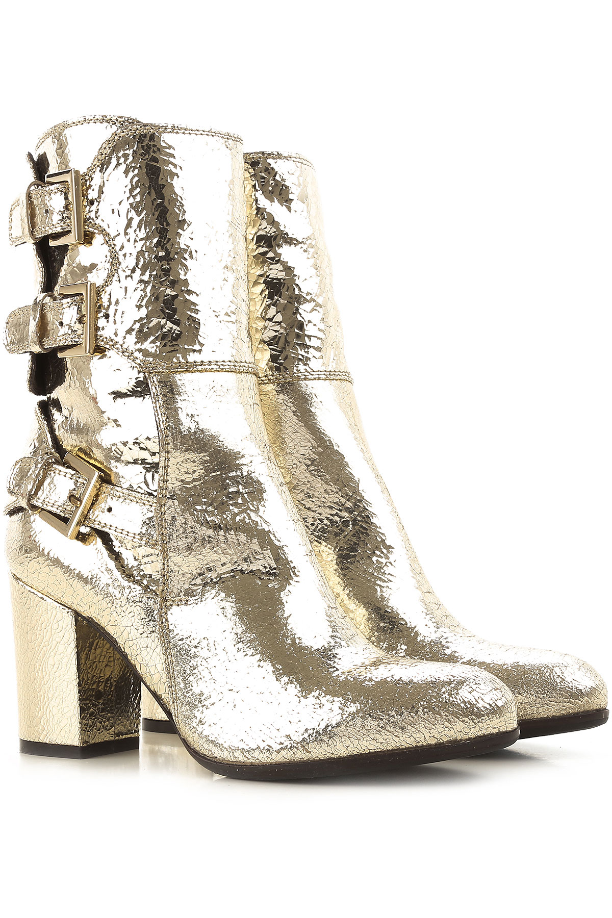 Image of Paris Texas Boots for Women, Booties On Sale in Outlet, Platinum, lame, 2017, 5.5 6 6.5 7 8 8.5 9