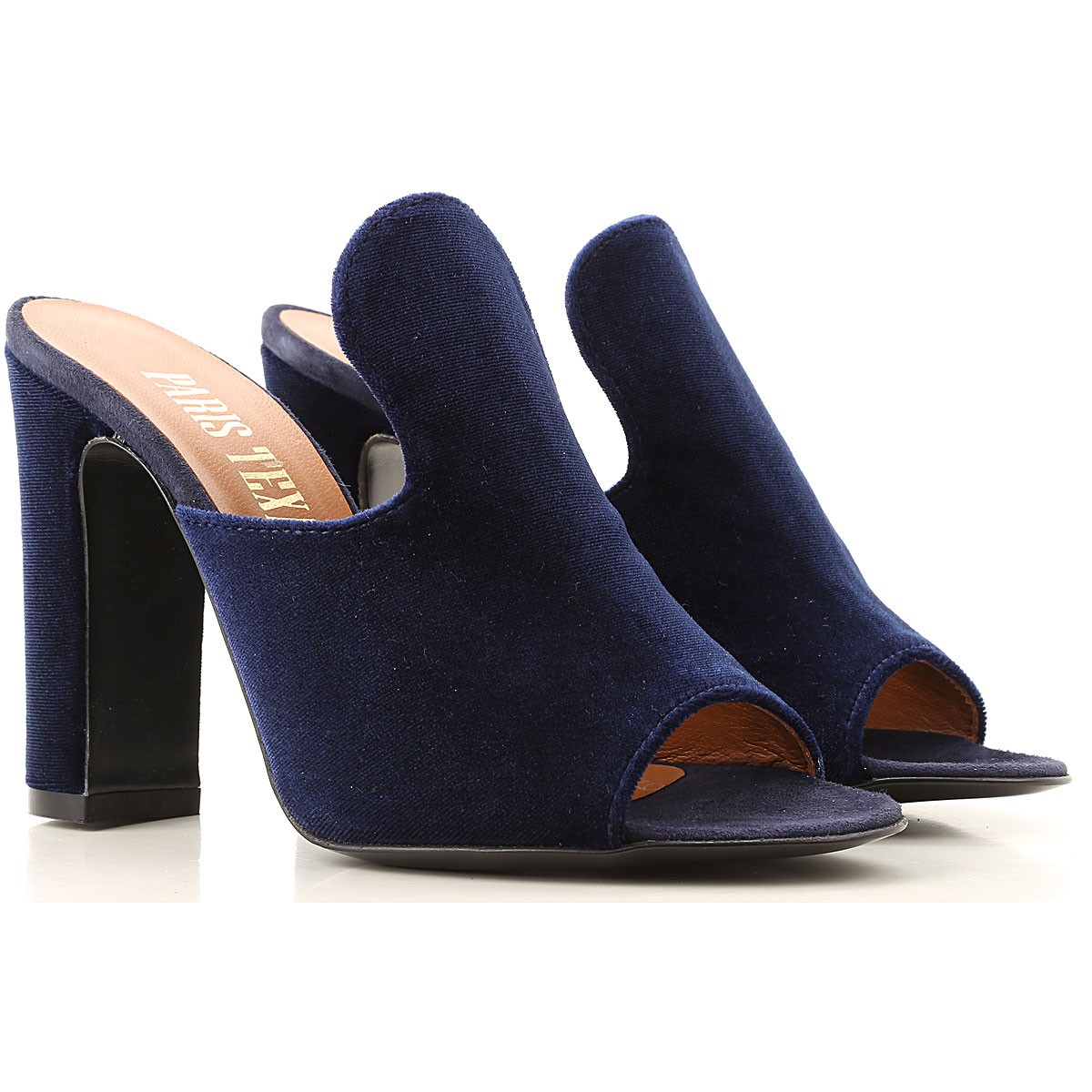 Paris Texas Sandals for Women On Sale in Outlet, Blue, Leather, 2019, 11 6 7 8 8.5