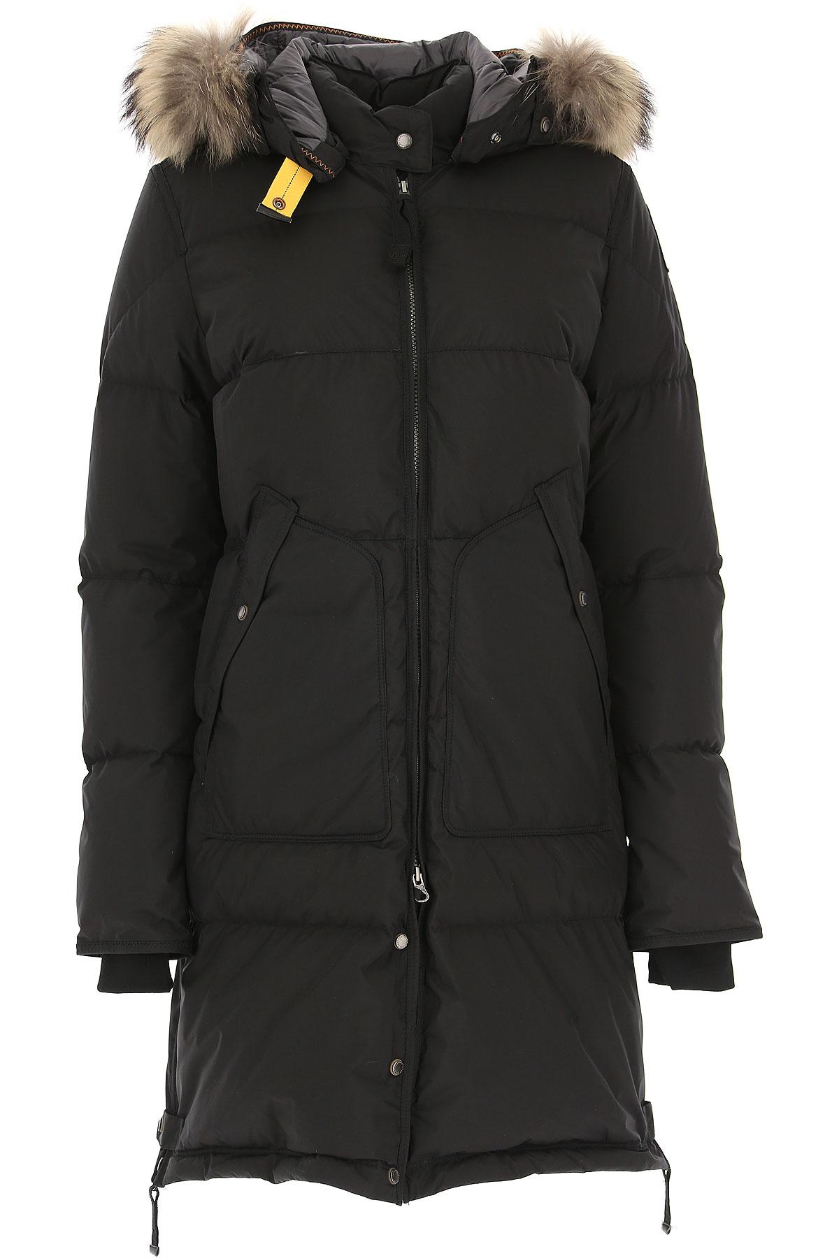 Image of 032c Down Jacket for Women, Puffer Ski Jacket, Black, polyamide, 2017, 4 6 8