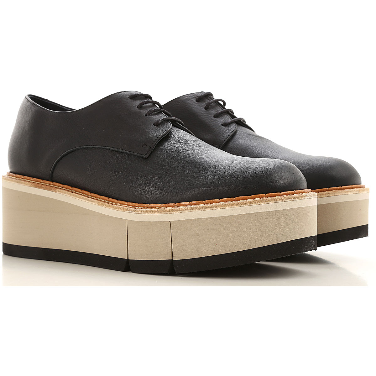 Paloma Barcelo Lace Up Shoes for Men Oxfords, Derbies and Brogues On Sale, Black, Leather, 2019, 10 7 8 9