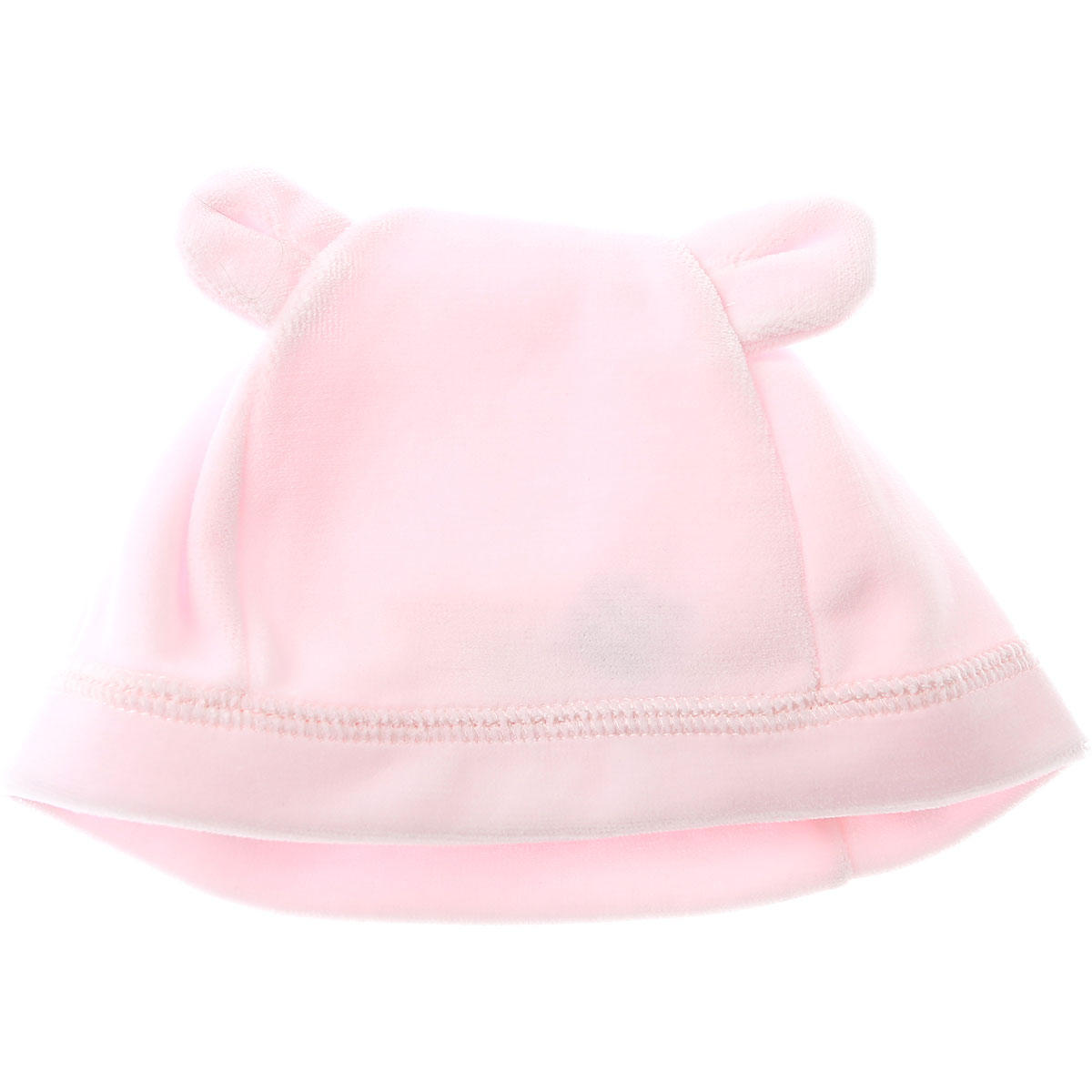 Image of Petit Bateau Baby Hats for Girls On Sale, Pink, Cotton, 2017, 1M 3M 6M