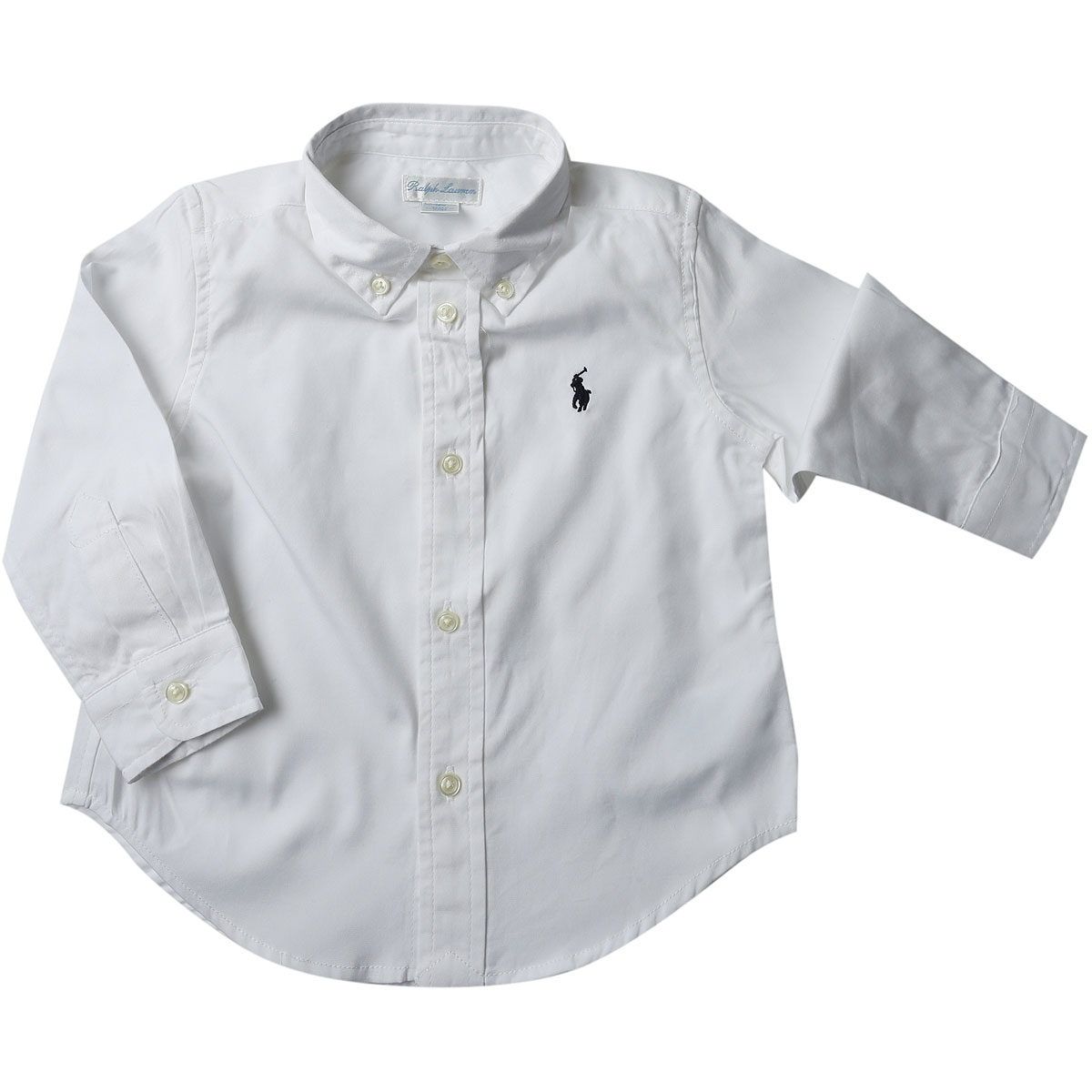 Ralph Lauren Baby Shirts for Boys On Sale, White, Cotton, 2019, 12 M 2Y