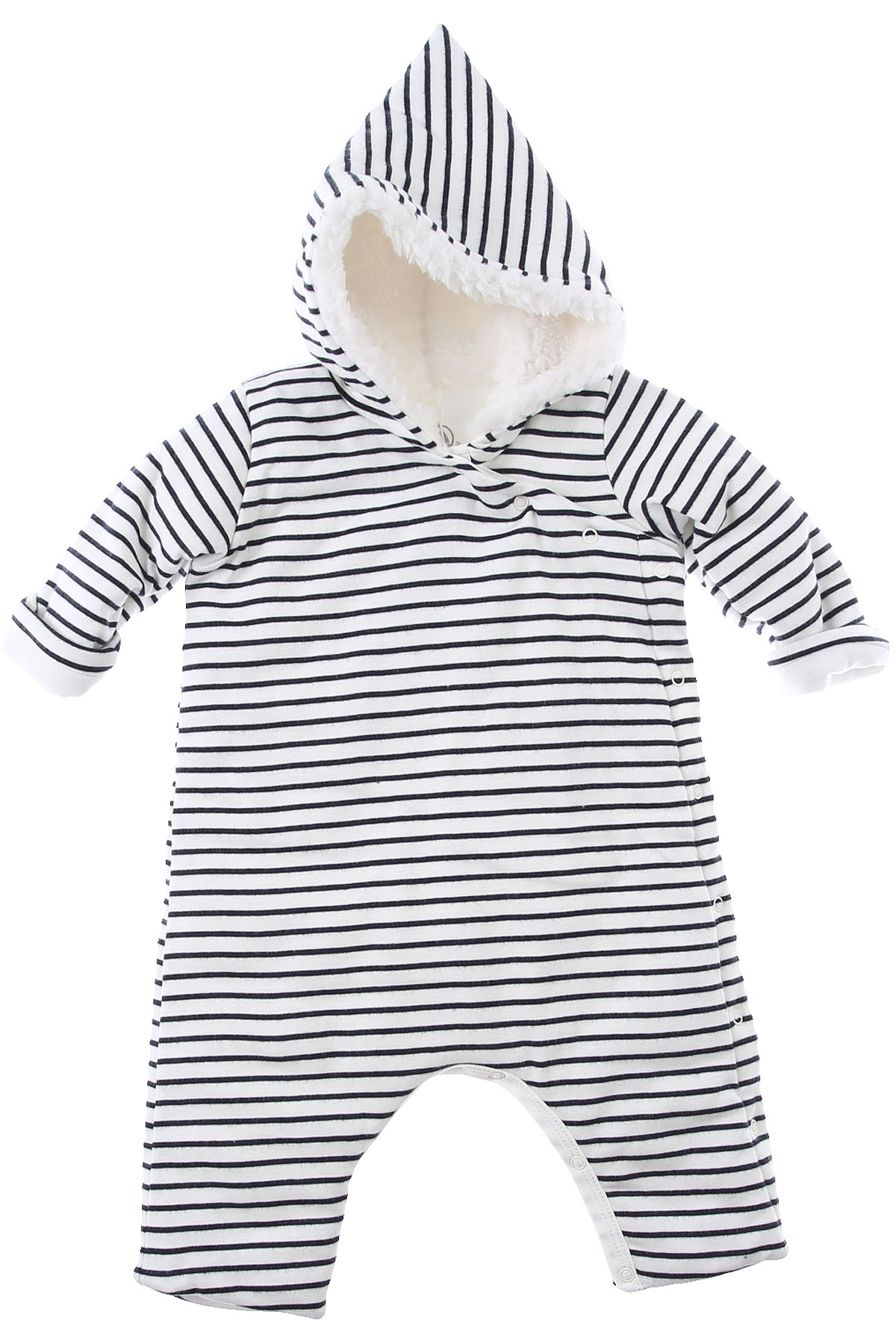 Petit Bateau Baby Bodysuits & Onesies for Boys On Sale, White, Cotton, 2019, 1M 3M 6M