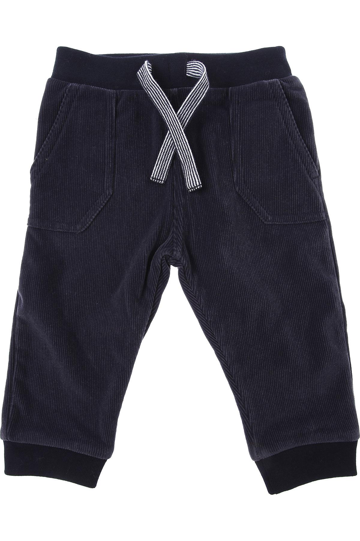 Petit Bateau Baby Sweatpants for Boys On Sale, Dark Blue, polyamide, 2019, 12 M 18 M 2Y 6M