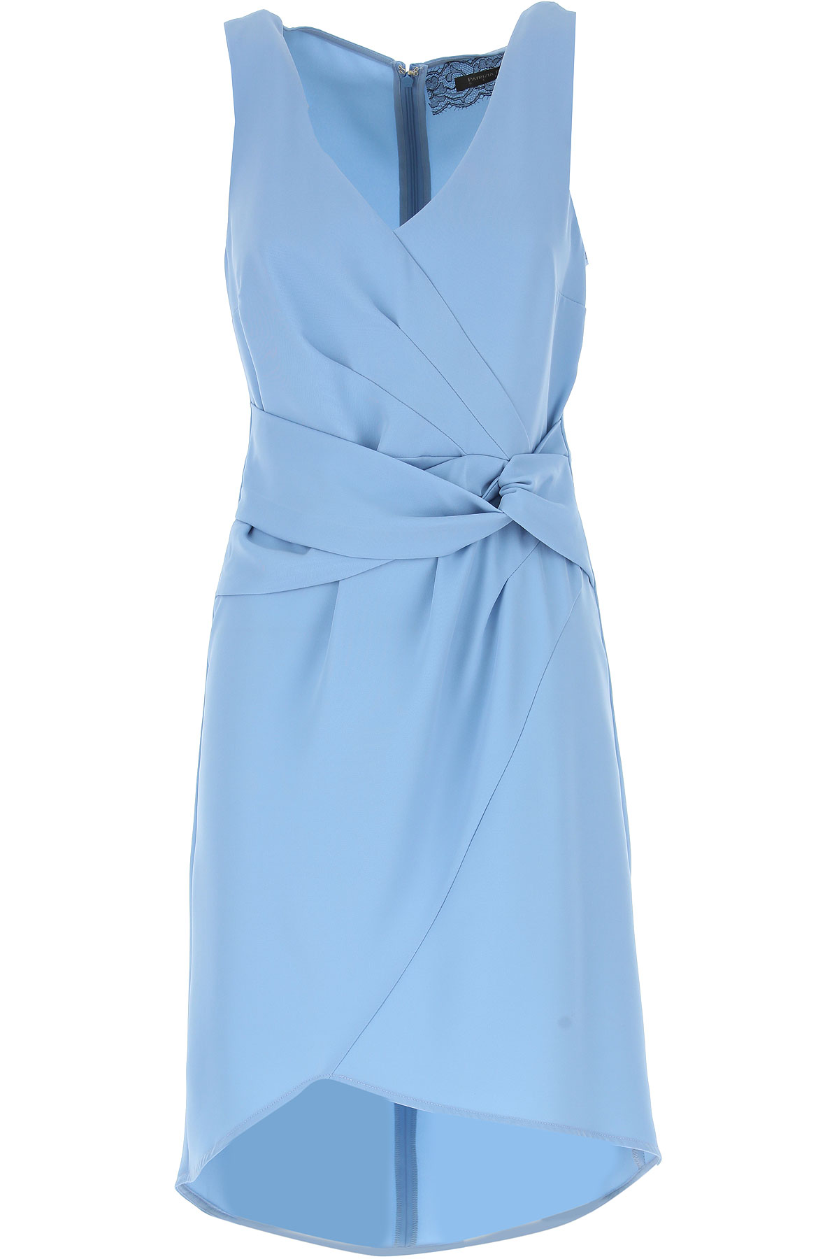 Patrizia Pepe Dress for Women, Evening Cocktail Party On Sale in Outlet, Cosmic Blue, polyester, 2019, 10 4