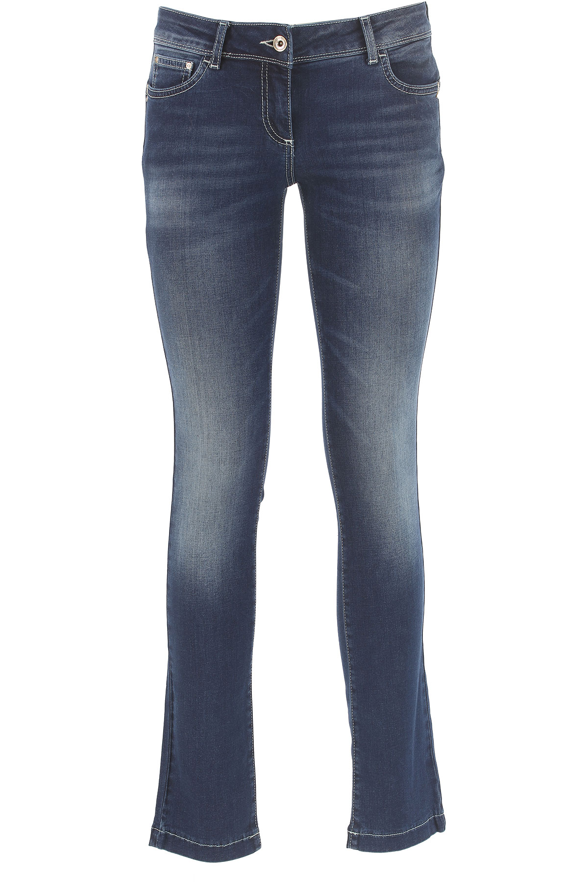 Patrizia Pepe Jeans On Sale, Denim Blue, Cotton, 2017, 25 26 27