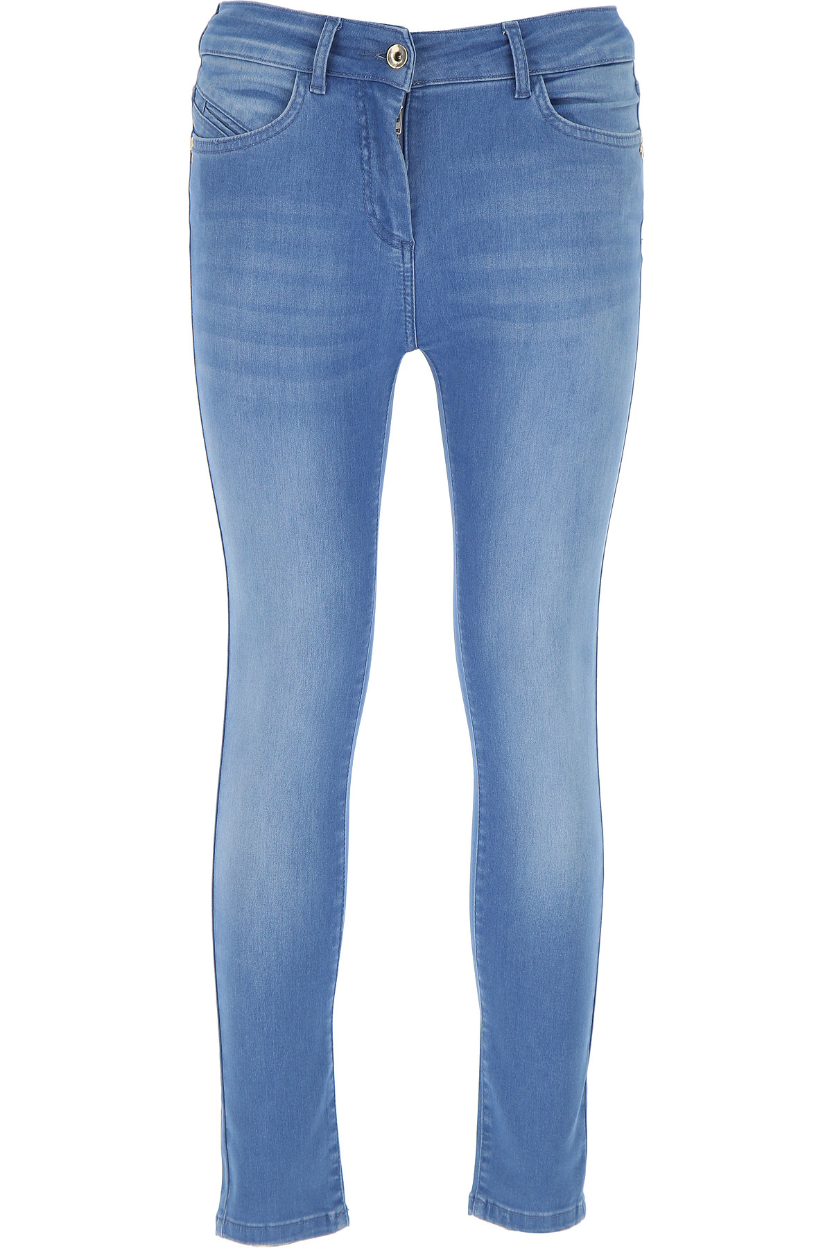 Patrizia Pepe Jeans On Sale, Denim Blue, Cotton, 2017, 25 26 28