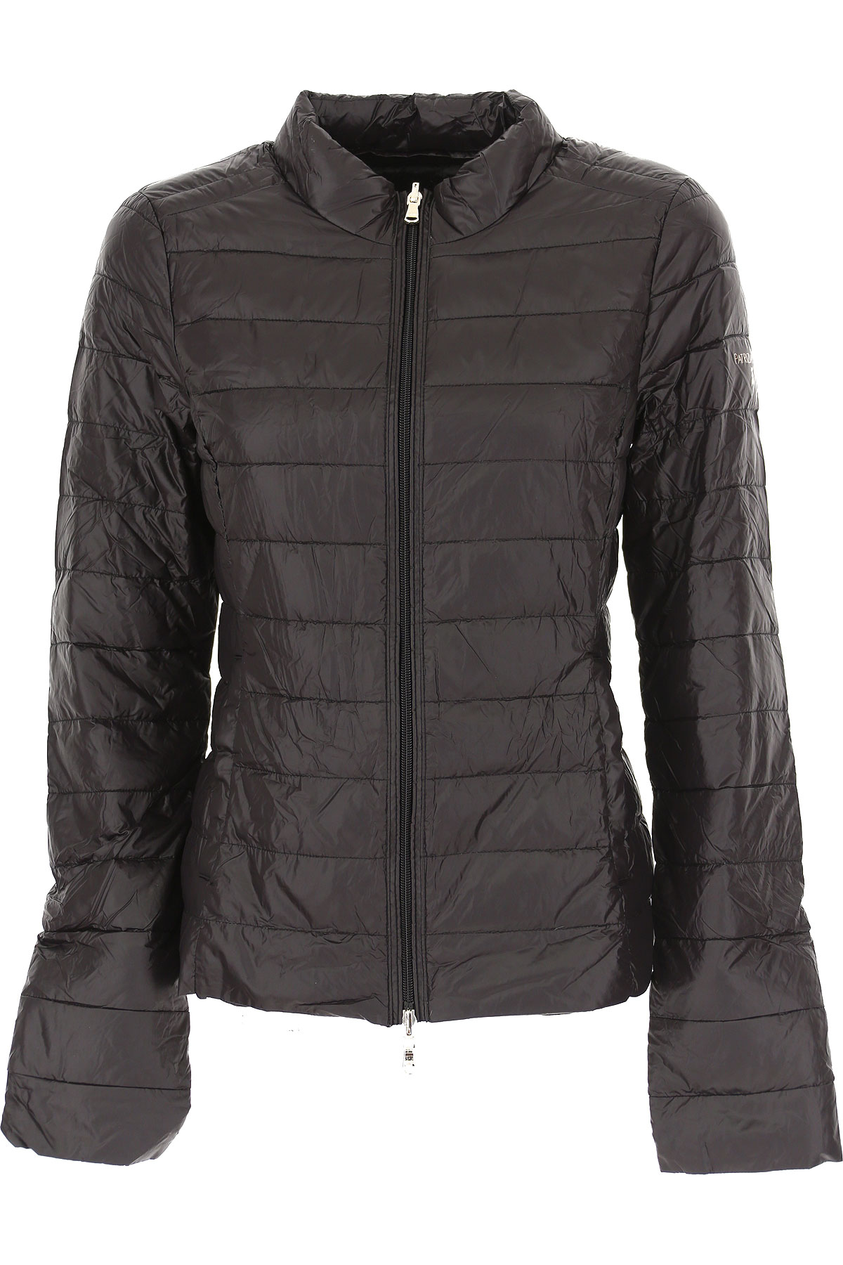 Patrizia Pepe Down Jacket for Women, Puffer Ski Jacket On Sale, Black, Down, 2019, 4 6 8