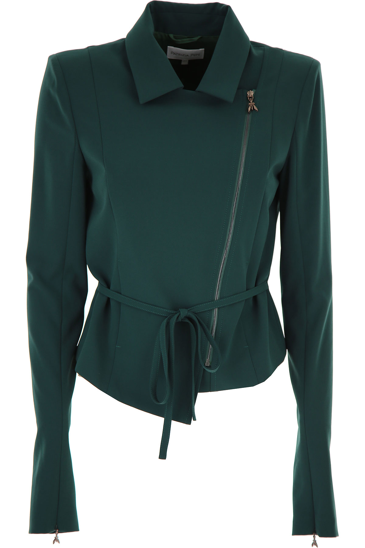 Patrizia Pepe Jacket for Women On Sale, Green, polyester, 2019, 4 6