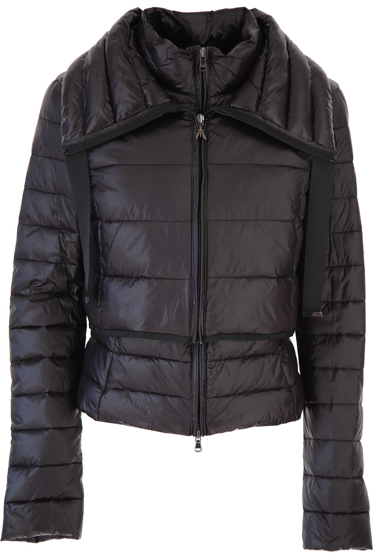 Patrizia Pepe Jacket for Women On Sale, Black, polyamide, 2019, 4 6