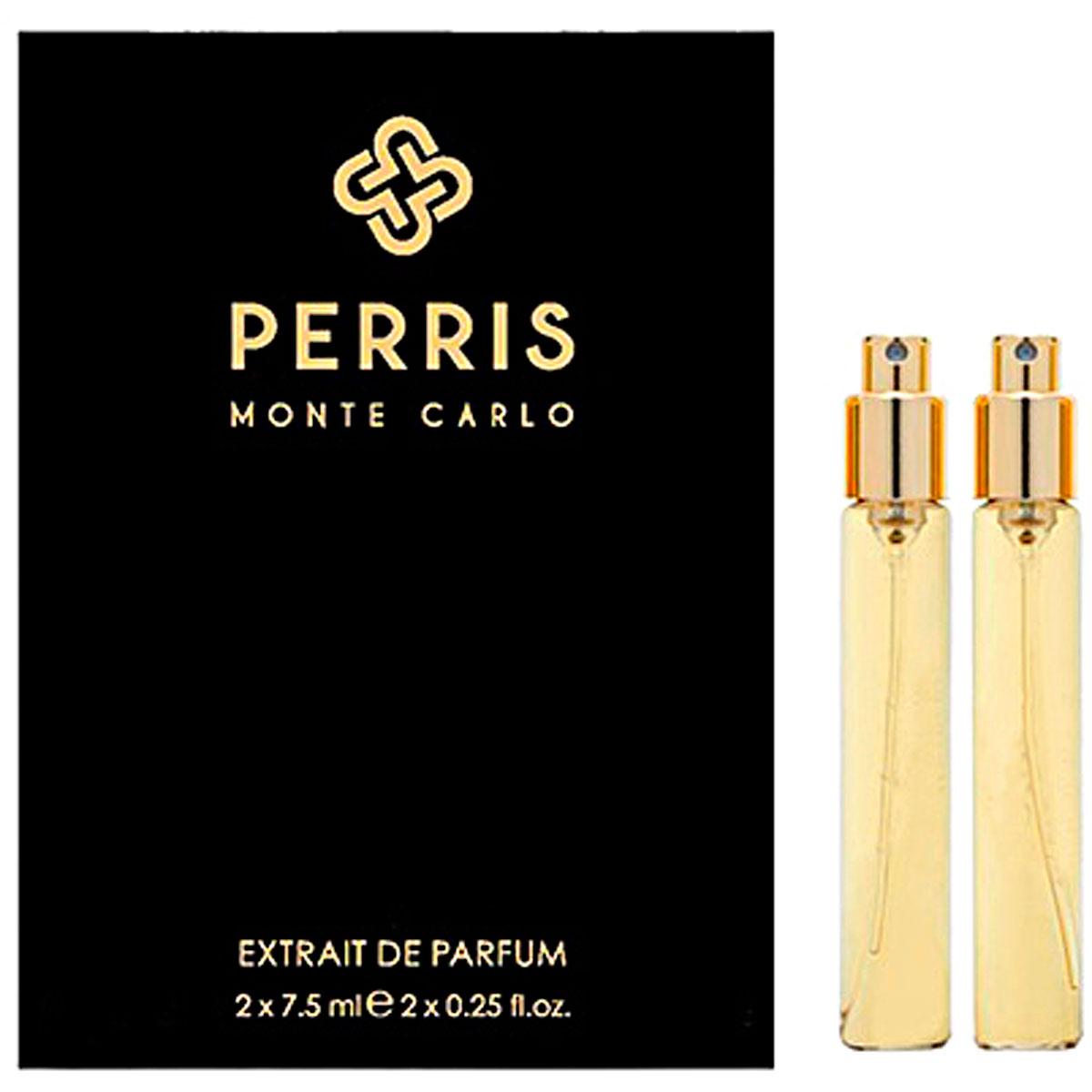 Perris Monte Carlo Fragrances for Men, Santal Du Pacifique Travel Refill - Extrait De Parfum - 2 X 7.5 Ml, 2019, 2 x 7.5 ml