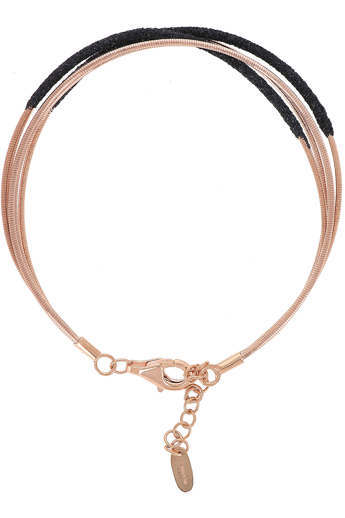 Pesavento Bracelet for Women, Gold Pink, Silver 925, 2019