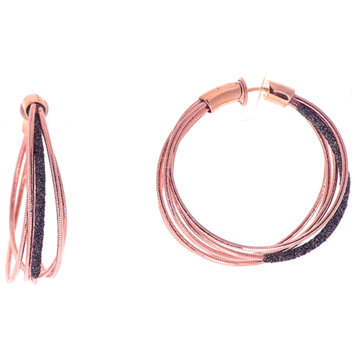Pesavento Earrings for Women, Gold Pink, Silver 925, 2019