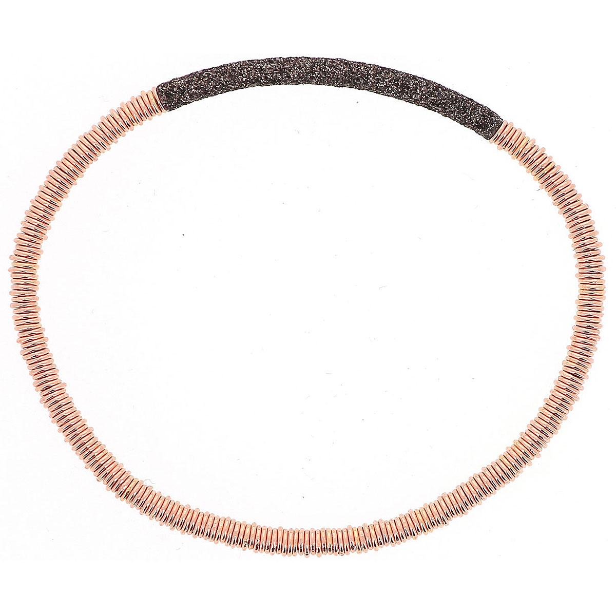 Pesavento Bracelet for Women, Rose Gold, Silver, 2019