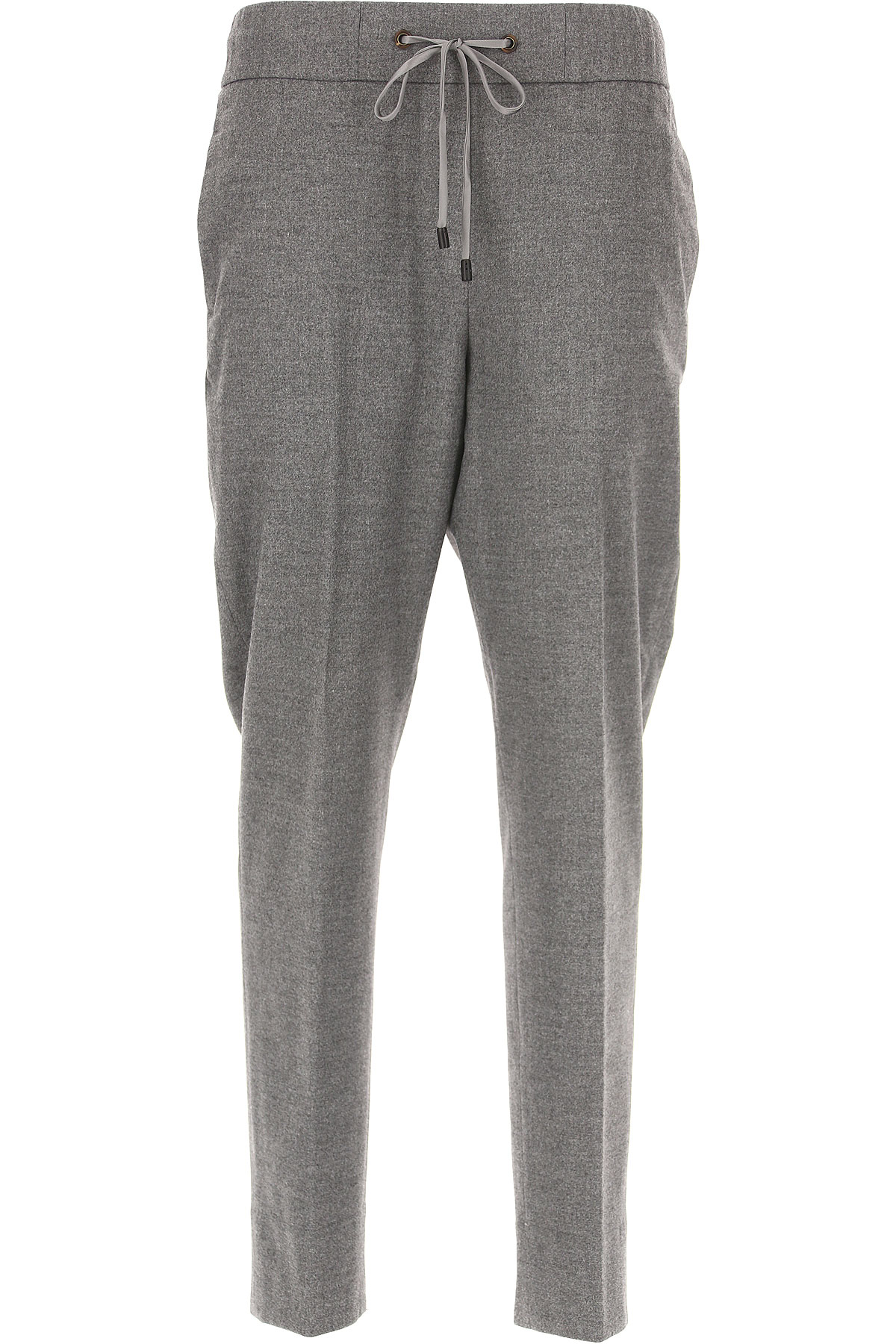 Image of Peserico Pants for Women On Sale in Outlet, Medium Grey, polyester, 2017, 28